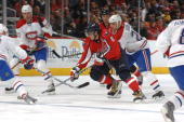 Ovechkin torpedoes the Canadiens.